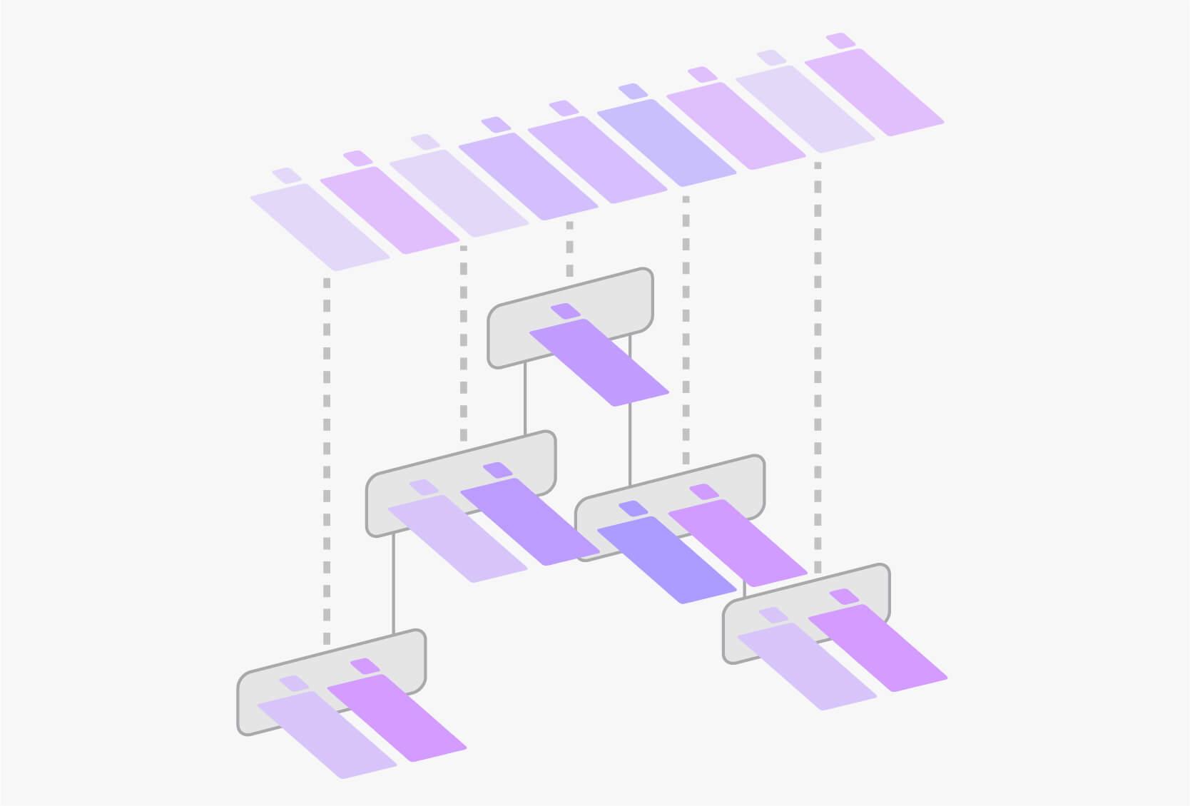 SweetHive è la trasposizione dell'organigramma dell'organizzazione