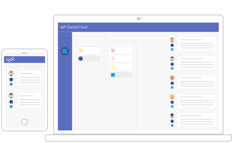 sweethive, the matrix collaboration platform